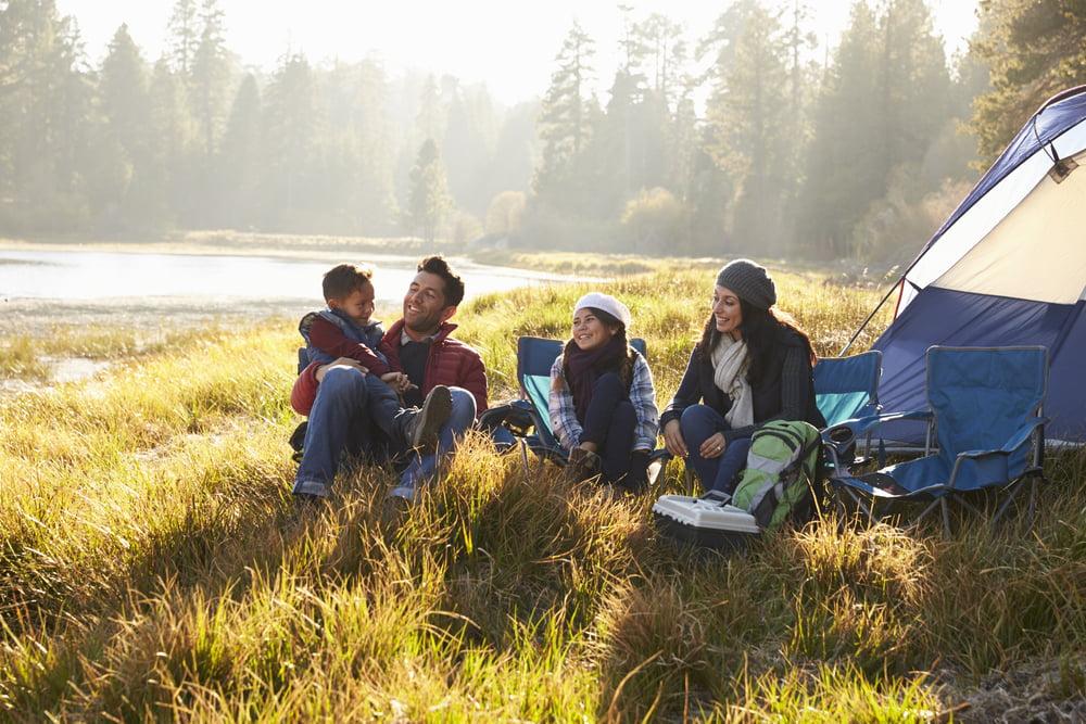 Camping é um grande lazer