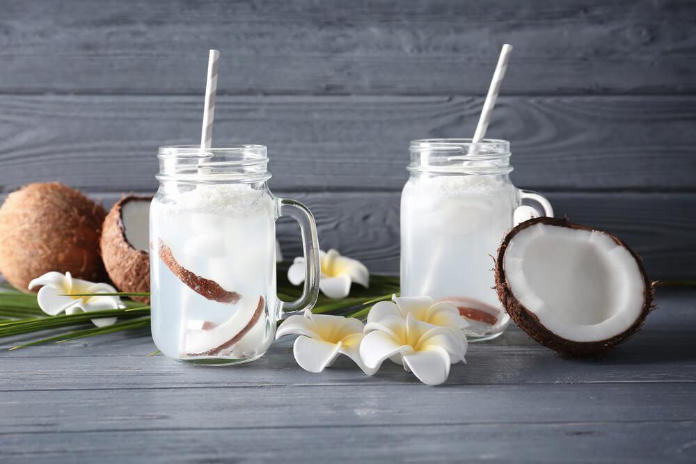 Água de coco na sua qualidade de vida