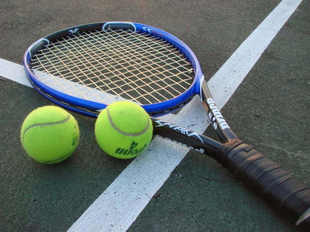 Tênis é um excelente esporte