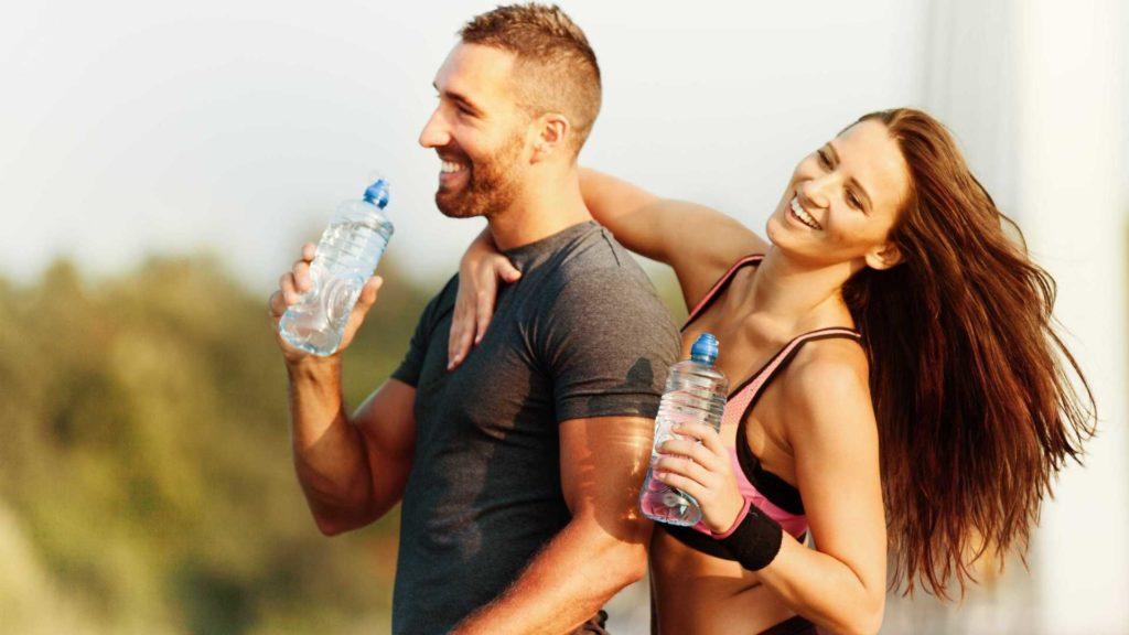 importância da ingestão de água para a saúde.