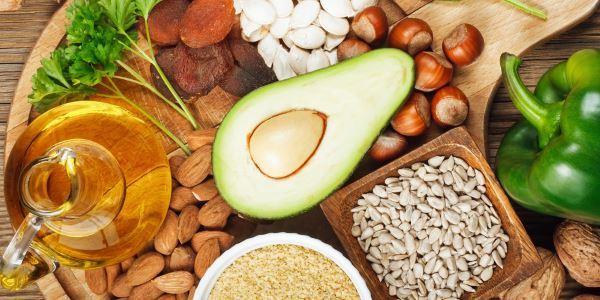 Alimentos que possuem vitamina E