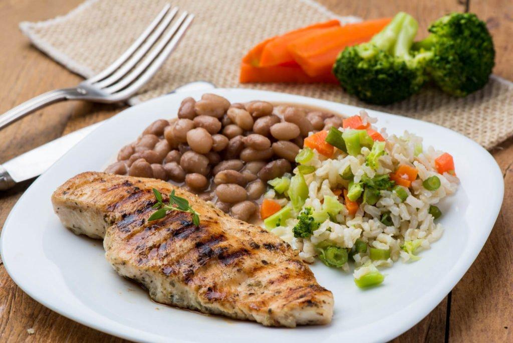 proteína na dieta - frango grelhado