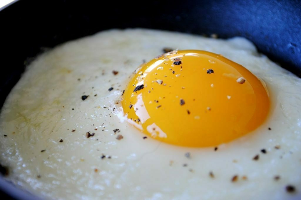 Proteína na dieta - ovo