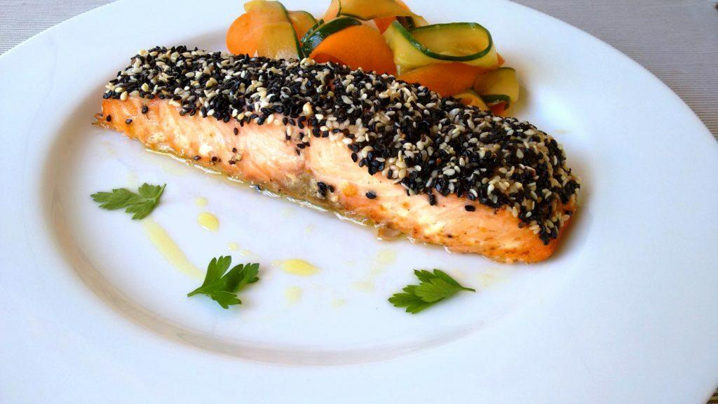 proteína na dieta - salmão