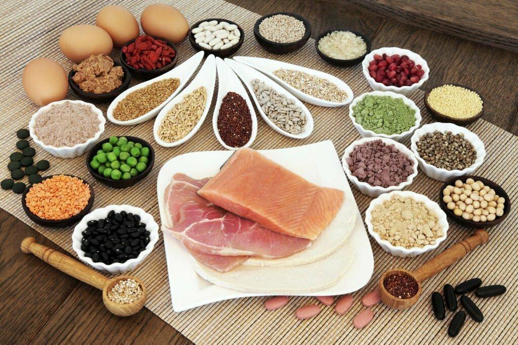 qualidade de vida - proteínas