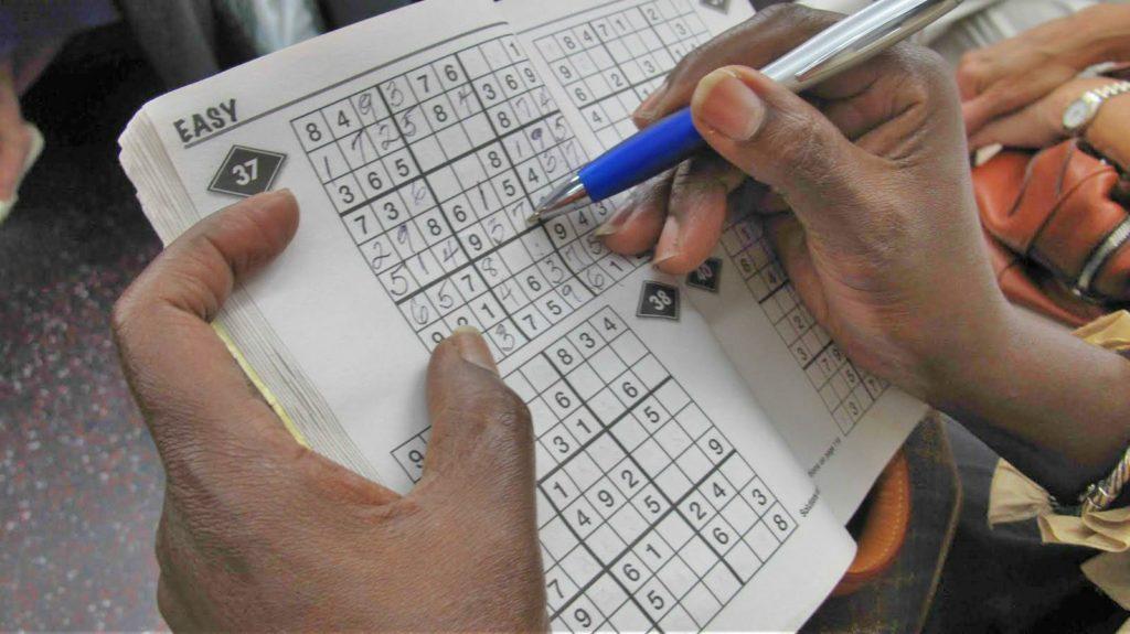 Qualidade de vida - hobbie - sudoku