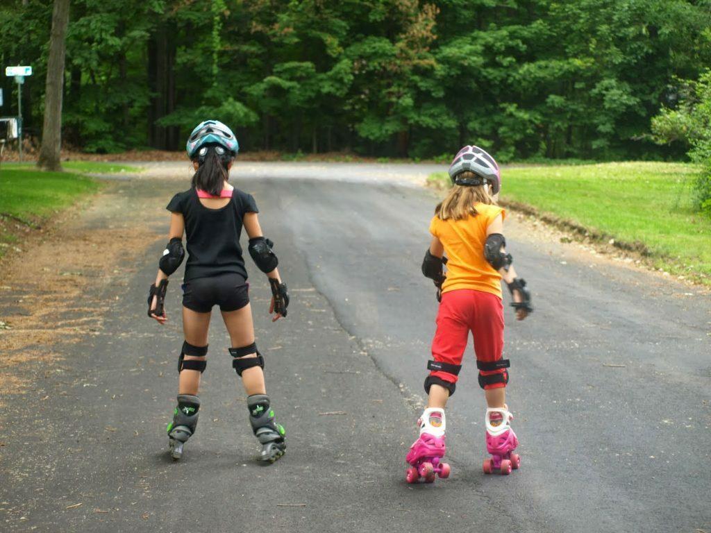 Qualidade de vida - patins para coordenação