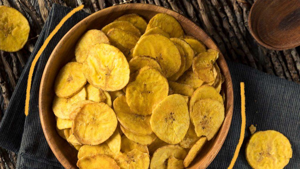 Qualidade de vida - banana chips