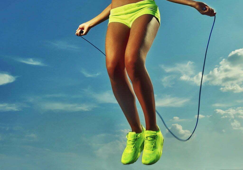 Qualidade de vida - pular corda