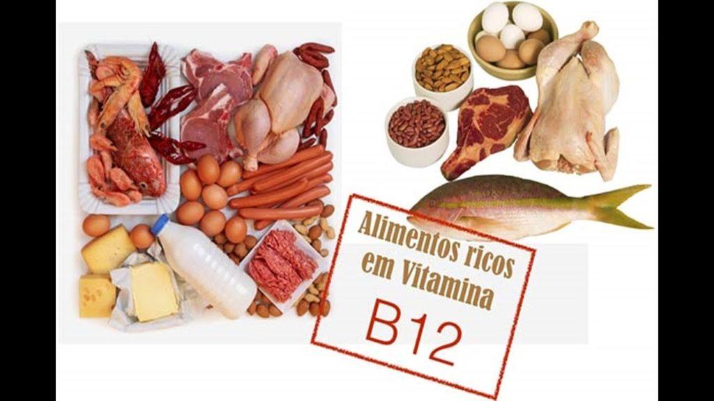 Qualidade de vida - alimentos ricos em vitamina B12