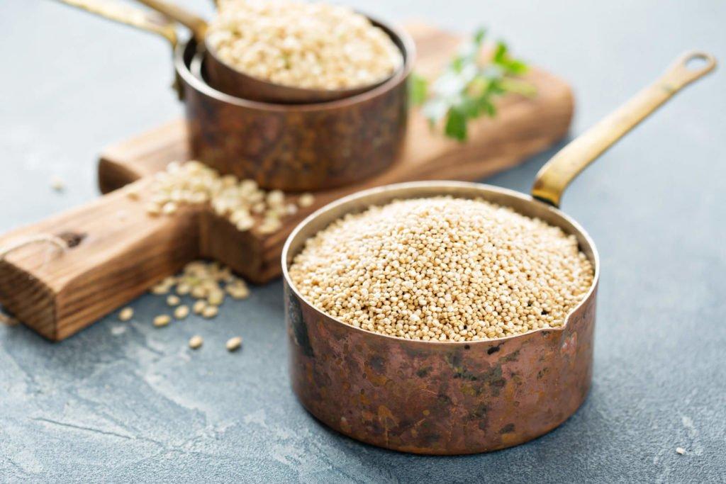 Qualidade de vida - quinoa