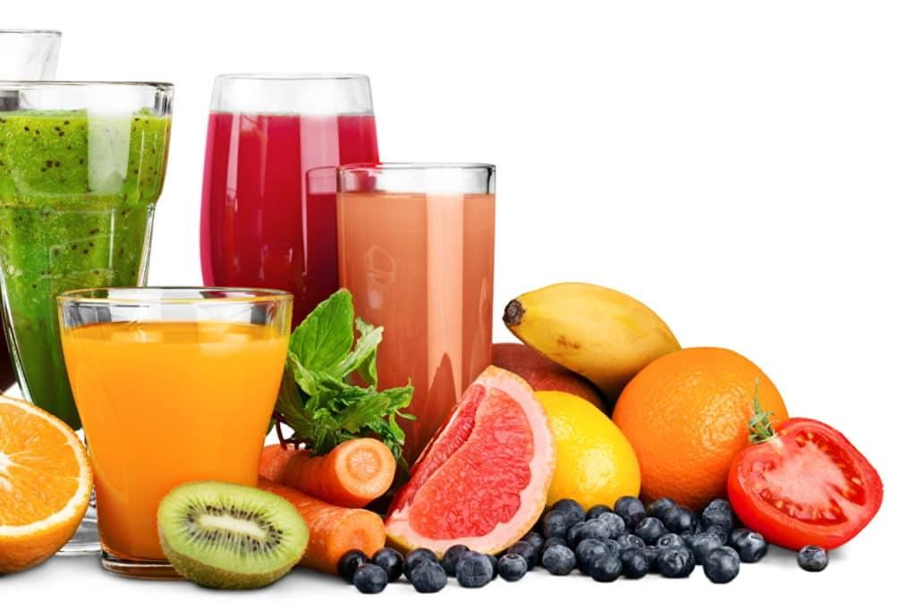 Bebida de frutas são boas para a saúde