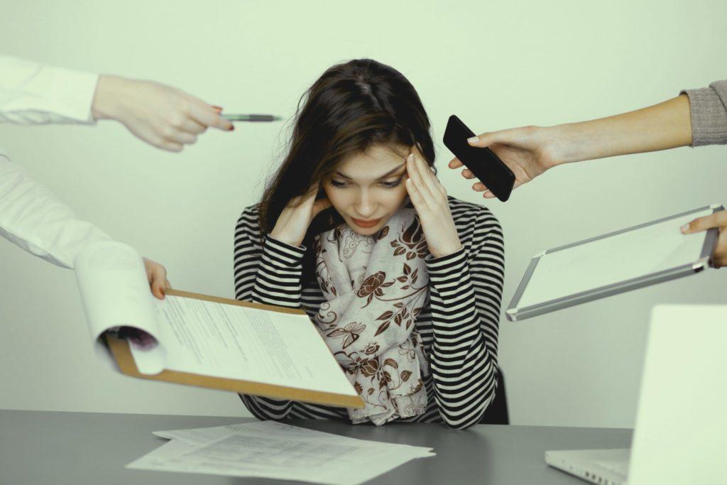 como evitar multitarefas e melhorar o stress no trabalho