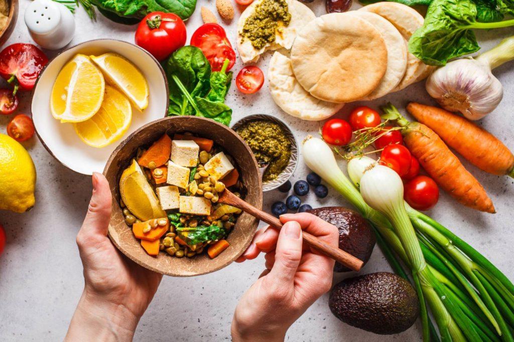 Podemos usar muitas substituições para aderir a dieta vegana
