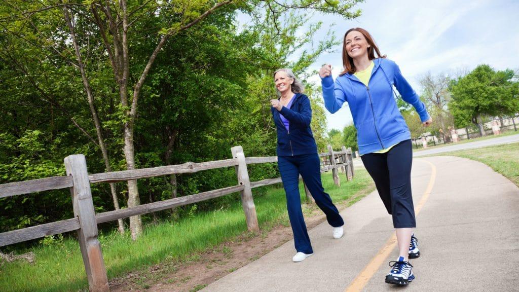 A caminhada diária reduz a chance de diabetes e ajuda na qualidade de vida