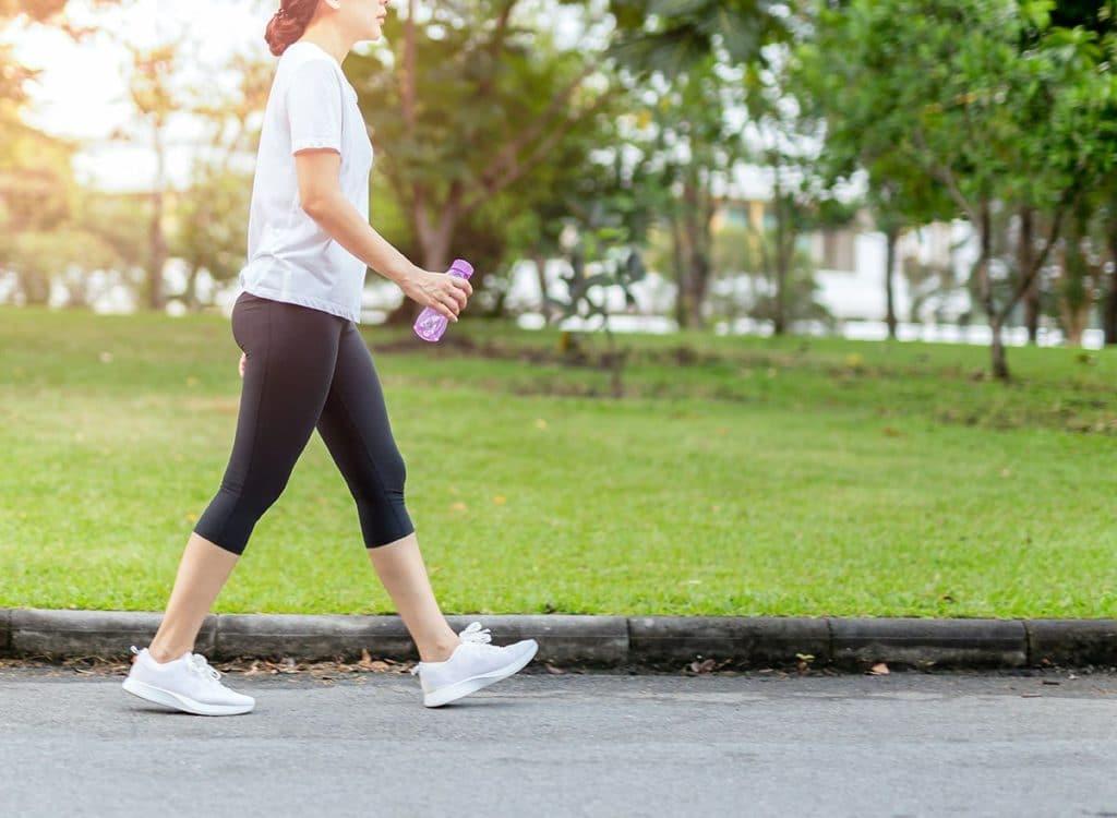 Caminhar ajuda na sua qualidade de vida